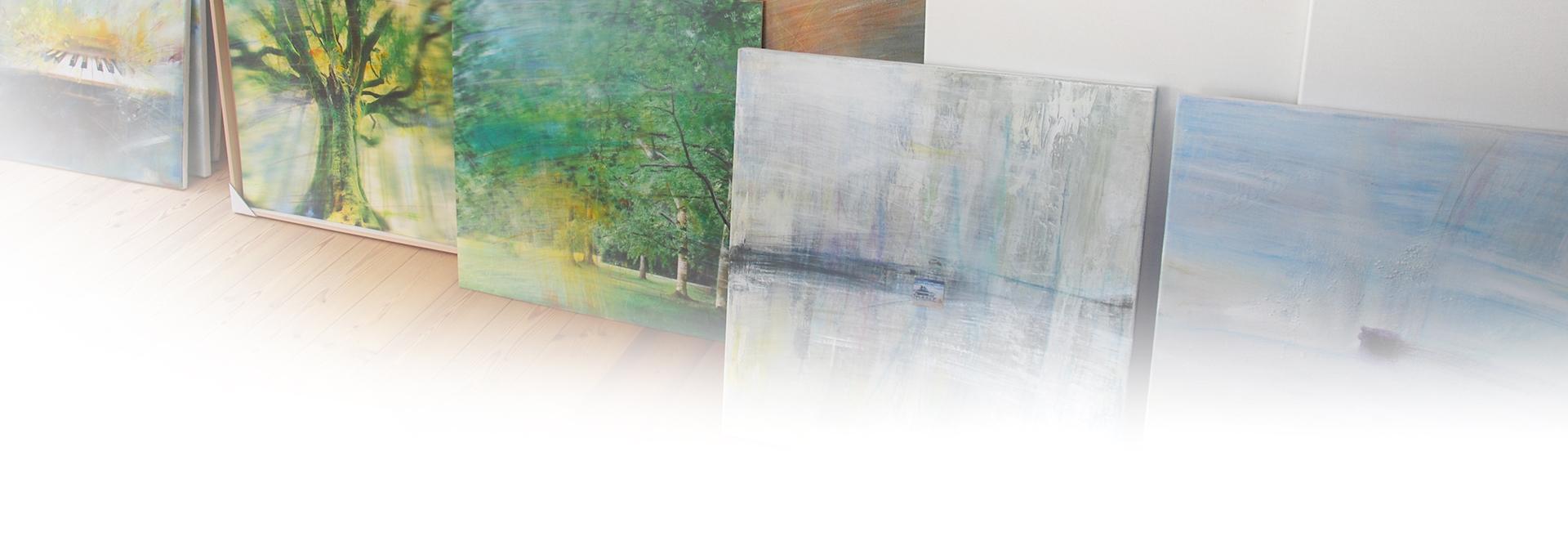 Bilderreihe- im Atelier-Sowada