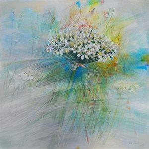 Blume-Malerei-Alliumblüte