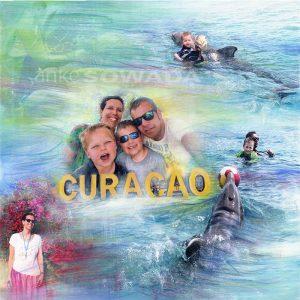 Familie-Malerei-Curacao-Delphine