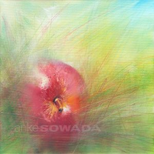 Malerei-Apfel