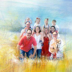 Auftragsarbeiten-Portrait-Familie