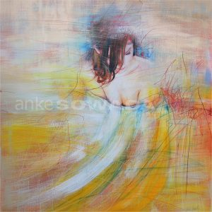 Malerei-Frau-Julia