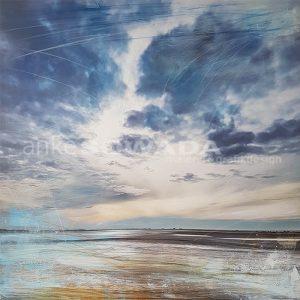 Malerei-Himmel-Strand-Meer-Römö