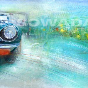 Malerei-Auftragsbilder-Autos-Jaguar