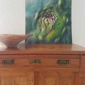 Artischocke-gemalt