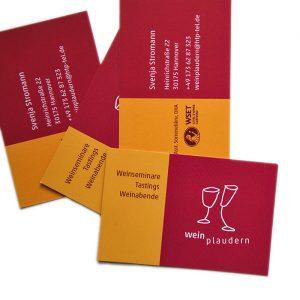 Logo-Wein-Farbgestaltung